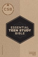 CSB Essential Teen Study Bible Hardback