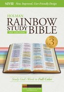 NIV Rainbow Study Bible Cocoa/Terra Cotta/Ochre Indexed