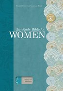 HCSB Holman Study Bible For Women HCSB Edition Teal/Gray Linen Indexed