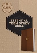 CSB Essential Teen Study Bible Walnut Imitation Leather