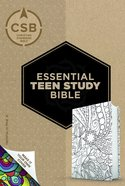 CSB Essential Teen Study Bible Personal Size Make-It-Your-Own Crown Leathertouch Imitation Leather