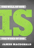 The Will of God is the Word of God Hardback