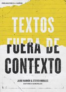 Textos Fuera De Contexto Paperback