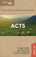 Acts (Shepherd's Notes Bible Summary Series) Paperback