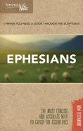 Ephesians (Shepherd's Notes Bible Summary Series) Paperback