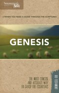 Genesis (Shepherd's Notes Bible Summary Series) Paperback
