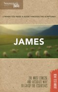 James (Shepherd's Notes Bible Summary Series) Paperback