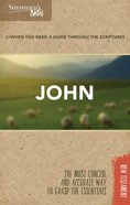 John (Shepherd's Notes Bible Summary Series) Paperback