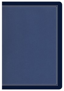 HCSB Compact Ultrathin Bible Cobalt Blue Leathertouch