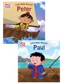 Peter/Paul Flip-Over Book (Little Bible Heroes Series)
