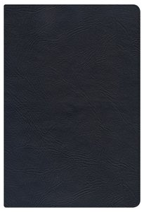 KJV Large Print Personal Size Reference Bible Black Indexed