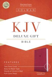 KJV Deluxe Gift Bible Pink