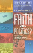 Faith in Politics 2015 (New Edition) Paperback