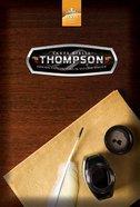 Rvr1960 Santa Biblia Thompson Edicion Especial Para El Estudio Biblico (Red Letter Edition) Hardback