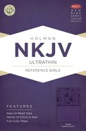 NKJV Ultrathin Reference Indexed Bible Purple