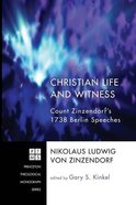 Christian Life and Witness Paperback
