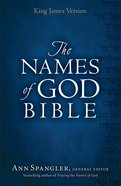 KJV Names of God Bible Hardcover