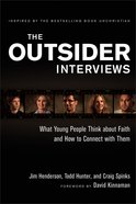 The Outsider Interviews Paperback
