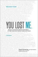 You Lost Me (Discussion Guide) Paperback