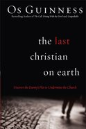 The Last Christian on Earth Paperback