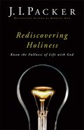 Rediscovering Holiness Paperback
