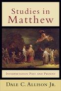 Studies in Matthew Paperback