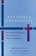 Reformed Catholicity Paperback