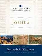 Joshua (Teach The Text Commentary Series) Hardback