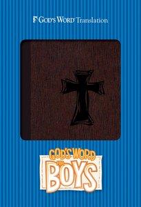 Gods Word For Boys Autumn Bark, Cross Design Duravella