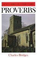 Proverbs (Geneva Series Of Commentaries) Hardback