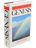 Genesis (Geneva Series Of Commentaries) Hardback