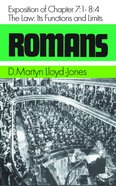 Romans 7: 1-8 4  The Law Hardback