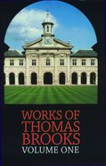 Works of Thomas Brooks #01 Hardback