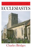 Ecclesiastes (Geneva Series Of Commentaries)