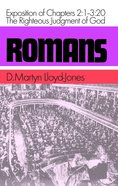 Romans 2: 1-3 20  Righteous Judgement of God Hardback