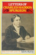 Letters of C H Spurgeon