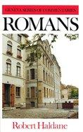 Romans (Geneva Series Of Commentaries) Hardback