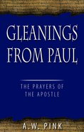 Gleanings From Paul Hardback