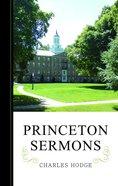 Princeton Sermons