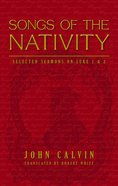 Songs of the Nativity Hardback