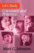 Colossians & Philemon (Let's Study (Banner Of Truth) Series) Paperback