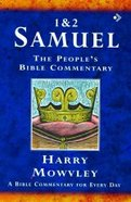 1&2 Samuel (Peoples Bible Commentary Series)