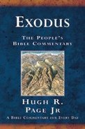 Exodus (People's Bible Commentary Series) Paperback