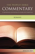 Romans (People's Bible Commentary Series)