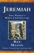 Jeremiah (People's Bible Commentary Series) Paperback