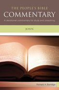 John (People's Bible Commentary Series)