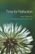 Time For Reflection Paperback