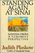 Standing Again At Sinai Paperback