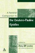 A Feminist Companion to Paul Paperback