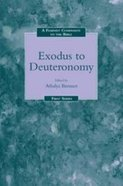 Feminist Companion: Exodus to Deuteronomy Paperback